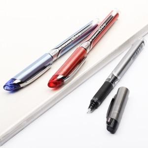 Image 5 - 9 חתיכות טייס היי Bxgpn גריפ BXGPN V5 0.5mm נוסף בסדר Rollerball עט ג ל עט מבחן עט מיוחד יפן שחור/כחול/אדום צבע