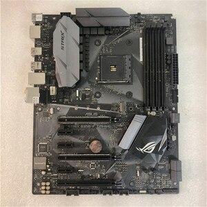 Asus ROG STRIX B350-F игровая системная плата AMD B350 socket AM4 настольная материнская плата поддержка RYZEN 3700x б/у материнская плата