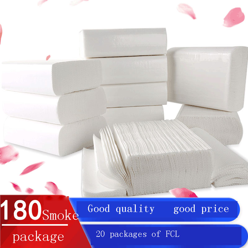 20 Packs / Bag   180 Toilet Paper Commercial Toilet Business Toilet Paper Kitchen Oil Absorption Paper Toilet Paper