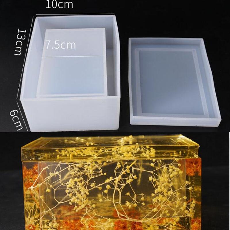 Новая прозрачная силиконовая форма для высушенных цветов, декоративные поделки из смолы, коробка для хранения салфеток, формы для эпоксидной смолы для ювелирных изделий|Инструменты и оборудование для украшений|   | АлиЭкспресс - Форма для эпоксидной смолы