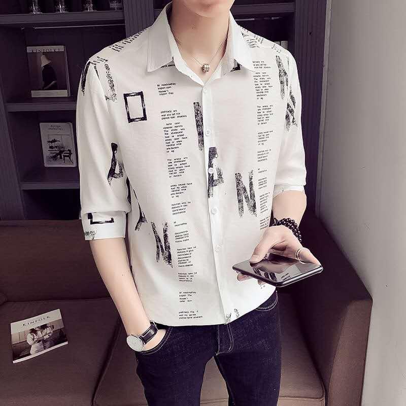 Men's And Women's Shirts Summer New Comfortable Soft Shirt Loose Fashion Trend Men's Shirt Casual Shirt