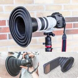 Odbijająca się  składana  silikonowa osłona obiektywu Ultimate osłona obiektywu  lustrzanka  silikonowa osłona obiektywu do aparatu w Zewnętrzne narzędzia od Sport i rozrywka na