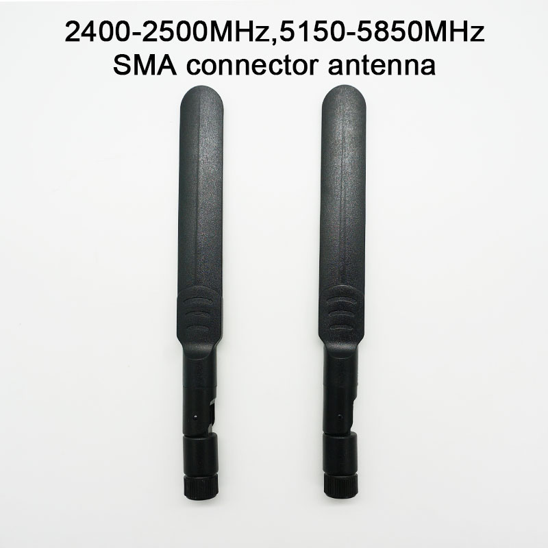2400MHz-2500MHz 5150MHz-5850MHz SMA Antenna For HackRF One