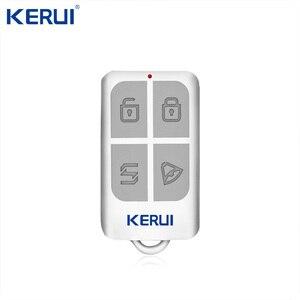 Image 4 - Kerui K52 gran pantalla táctil sistema de alarma WIFI/GSM pantalla Color TFT de alarma de casa de seguridad del sistema Detector de movimiento PIR