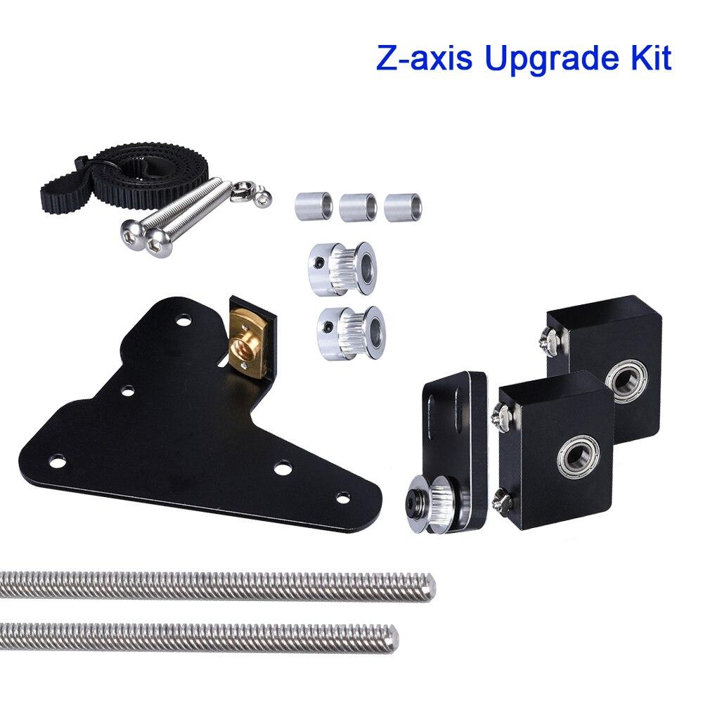 Kit de mise à niveau d'axe Z simple double support de palier en aluminium profil poulie de Tension ensemble pour CR10 Ender3 imprimante 3D moteur pas à pas