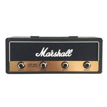Rack amplificador de guitarra Vintage, soporte para llaves, Jack Rack 2,0 Marshall JCM800, portallaves Marshall