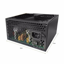 1300W Power Supply 8 SATA IDE Dedicated Power Supply Support 12 Graphics Card For Eth Rig BTC Mining Miner Machine with Fan