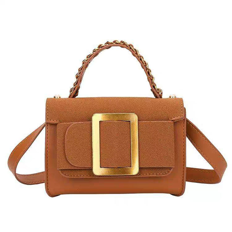 Fashion Casual PU crossbody bags for women Retro Metallized hand bag ladies exquisite shoulder bags Small square female bags in Top Handle Bags from Luggage Bags