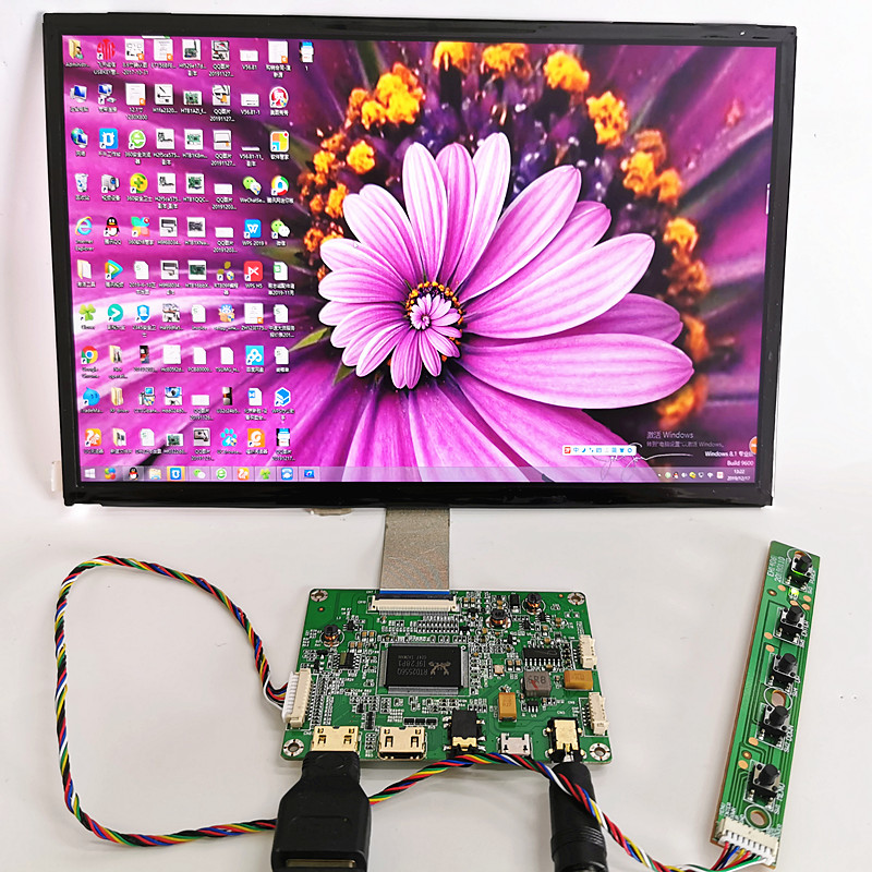 10.1 inch LCD display capacitive touch module kit 2560x1600 IPS 2mini HDMI LCD Module Car Raspberry Pi 3 Game XBox PS4 Monitor(China)