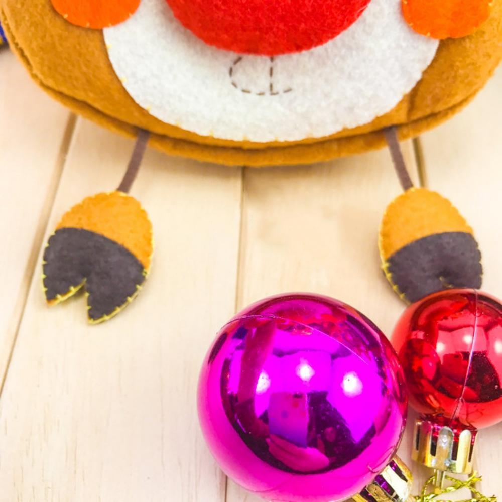Нетканое Рождественское украшение ручной работы рождественские поделки набор материалов Diy