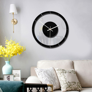 Настенные часы в скандинавском стиле, бесшумные прозрачные акриловые часы, настенные часы для дома, гостиной, кварцевые часы, часы для гостиной