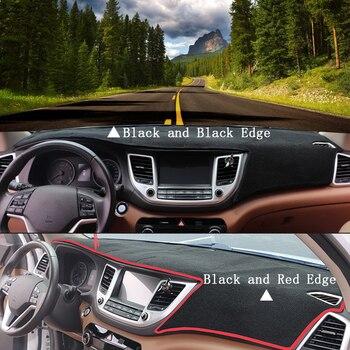 Para Hyundai Grand i10 2013-2017 accesorios de conducción derecha panel de salpicadero de coche almohadilla de alfombra