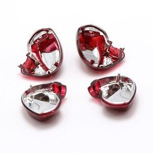 Image 4 - Um par diy reparação habitação escudo capa caso para se535 editio vermelho, artesanal diy personalizado armadura no fone de ouvido