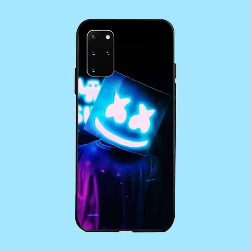 PENGHUWAN DJ marshmello boyunca rapçi Coque kabuk telefon kılıfı için Samsung S20 artı Ultra S6 S7 kenar S8 S9 artı s10 5G