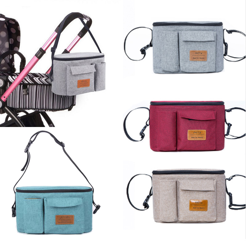 Diaper Bag Baby Stroller Organizer Nappy Bag For Baby Nusring Bag Mommy Mama Maternity Bag For Baby Yoya Stroller Cart Accessory