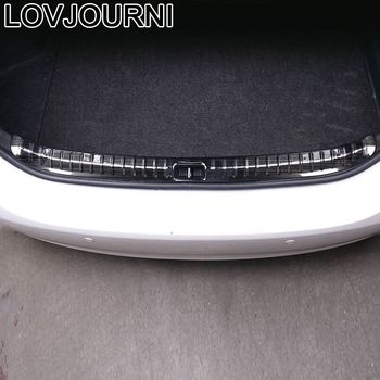 Trunk Rear Panels Foot Pedal Exterior Decorative Auto Bright Sequins Decoration Car Styling 14 15 16 17 18 FOR Toyota Corolla