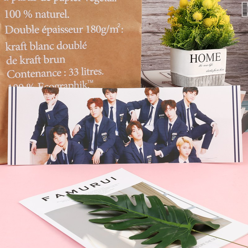 1 Piece Kpop Stray Kids Concert Support Hand Banner Fabric Hang Up Poster For Fans Collection Gift