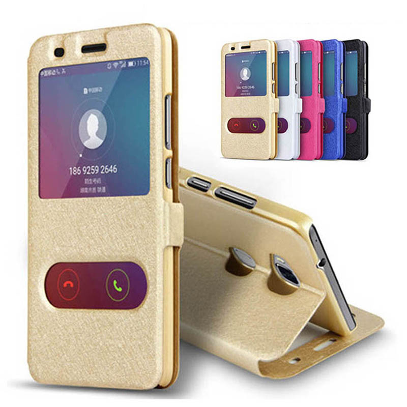 Clear Window Case For Motorola Moto G7 G5 G6 E4 E5 Plus Z Z2 Play Luxury Flip Silk Pattern Leather Protective Cover Phone Coque