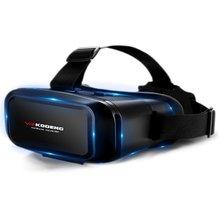 K2 3D Vr Виртуальная реальность Vr очки натуральная кожа маска для глаз умный шлем Стерео игры кино коробки подходит для смартфона