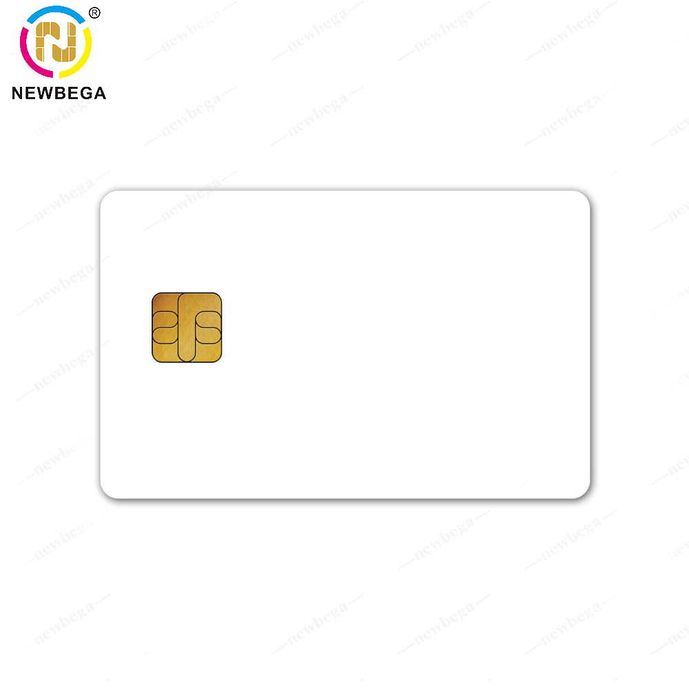 10PCS ISO High Frequency SLE4442 6pin Contact Chip Popular Smart Card Can Be Programmable