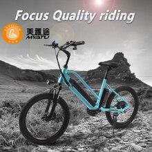 MYATU Shipment from EU factory 20inch adult electric bicycle lithium battery rear wheel motor mini fold bike city ebike