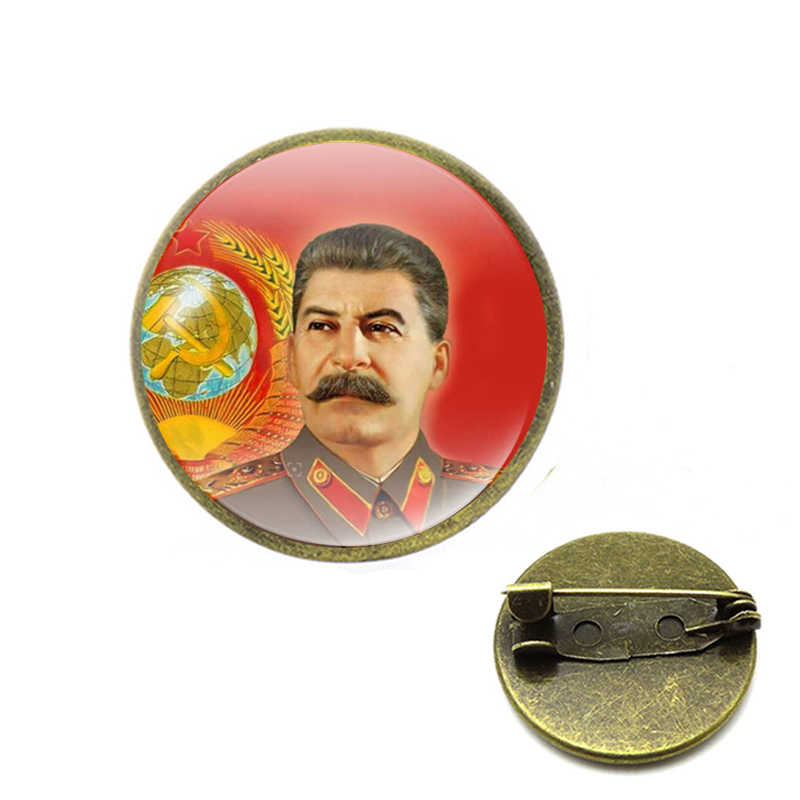 Retro Uni Soviet Simbol Pin Bintang Merah Sabit Hammer Perang Dingin Soviet Pro Kitty Bros Hadiah Ikon Lencana Kerah Pin untuk Mantel cap