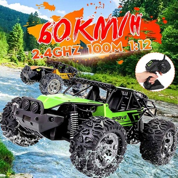 1:12 60Km/h RC Remote Control Off Road Cars Vehicle 2.4Ghz Crawlers Electric Monster RC car Toy for Children Gift 1