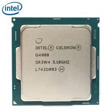 Intel celeron g4900 3.1 ghz 2 m cache processador cpu de núcleo duplo sr3w4 lga 1151 bandeja testado 100% trabalho