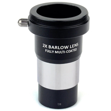 1.25 Inch 2X Barlow Lens Fully Multi-Coated Metal with M42X0.75 Thread Camera Connect Interface for Telescope Eyepieces стоимость