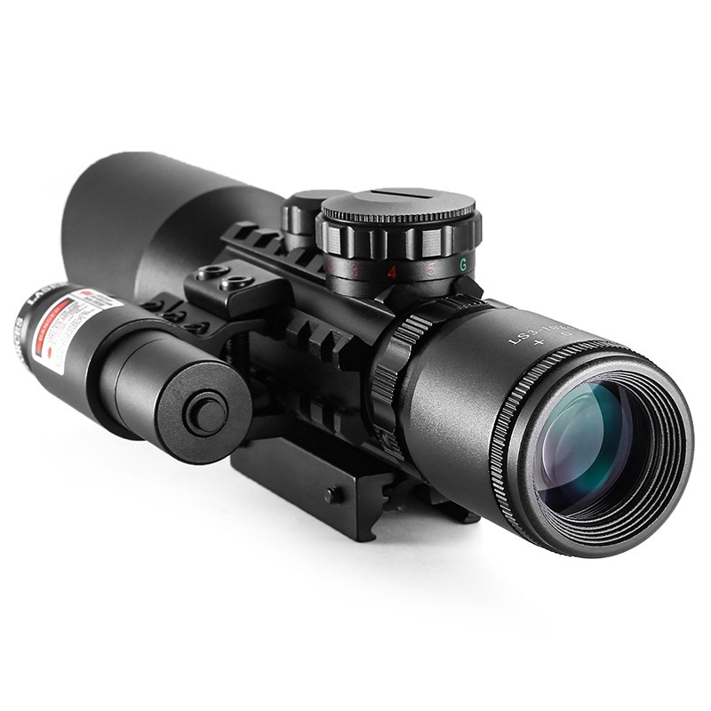 Tools : 3-10x42EG Hunting Scope Tactical Optics Reflex Sight Riflescope  Reticle Red Green Dot Combo Hunting Scope