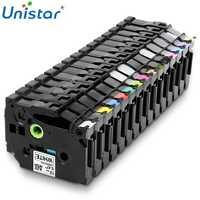 Unistar tze231 tape 12mm Compatible for Brother P-touch TZe 231 335 Black on White Multi Colors Label Maker TZ TZe-231 TZe-FX231