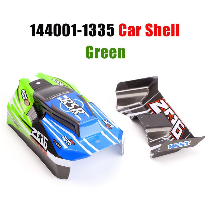 1//14 RC Auto Ersatzteile 144001-1335 Auto Shell Heckflügel Kit Zubehör