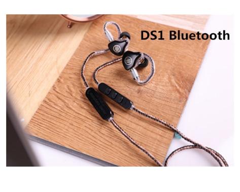 Auriculares BGVP DS1 PRO HIFI 1DD + 2BA tecnología híbrida en la oreja tipos de IEM OCC con micrófono/OCC chapado con cable MMCX 6