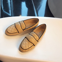 Women's Shoes Loafers Large-Size Genuine-Leather Luxury Casual for 34-40 Hot-Sell New-Fashion