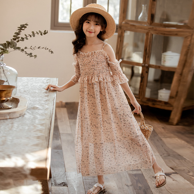 Dress For girls Big lace