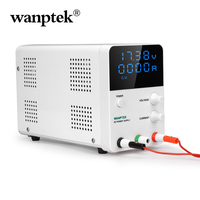 Wanptek GPS605D Switch DC Power Supply Digital Display Adjustable Laboratory Power Source 60V 5A 30V 10A Mini