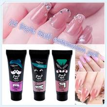 Beauty Glazed Nail Extension Gel Paperless Holder Crystal Natural Camouflage Lengthening Nail Polish Manicure & Clean Liquid Hot(China)