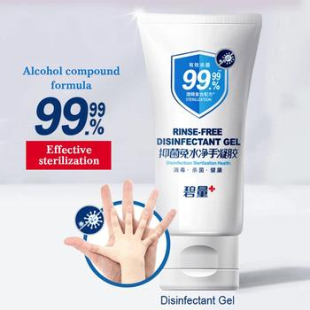 1pcs Disposable  Wash-free Hand Sanitizer 75% Alcohol Antibacterial Hand Sanitizer Disinfection Gel 99% Sterilization
