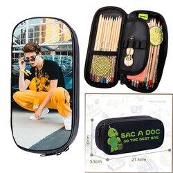 Чехол-карандаш Payton Moormeier для мальчиков и девочек, маленькие сумки для макияжа в стиле хип-хоп, детские школьные принадлежности, сумка для хра...