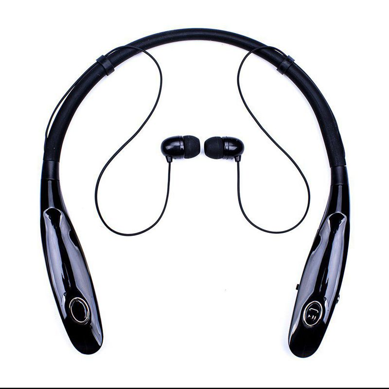 Promotion--Bluetooth Headphones 14Hr Working Time, Truck Driver Bluetooth Headset, Wireless Magnetic Neckband Earphones, Noise
