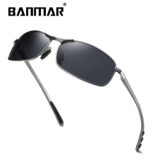 цены на BANMAR Brand Design Fashion Aluminum Magnesium Sunglasses Men Polarized Sun glasses Driving Eyewear For Men UV400 Oculos Shades  в интернет-магазинах