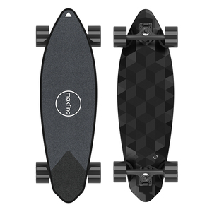 "Image 2 - Maxfind max 2 pro edição limitada skate elétrico longboard escuro 31 ""23 mph velocidade superior 16 milhas max faixa do motor duplo"