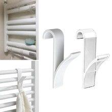 Alta qualidade cabide aquecido toalha de banho gancho titular do radiador ferroviário roupas cabide flexível plegable cachecol cabide