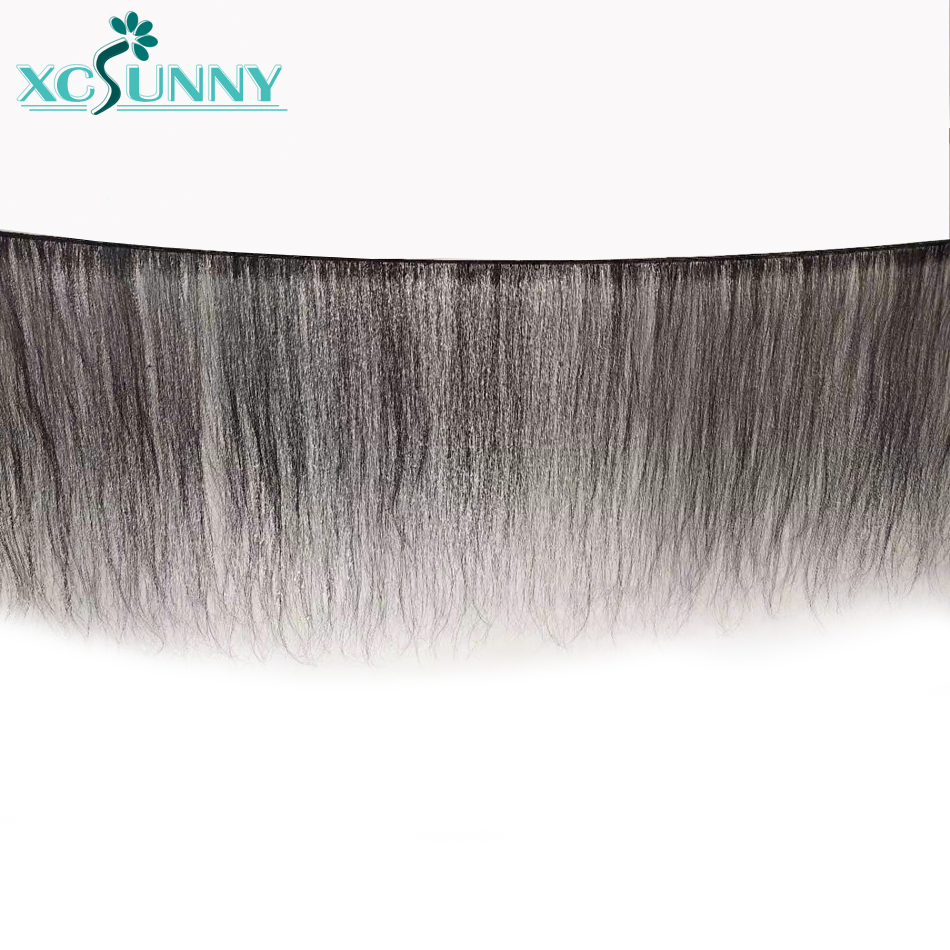 Image 3 - 13X6 Lace Front Human Hair Wigs Silky Straight Middle Ratio Brazilian Remy HD Knots Frontal Wig PrePlucked For Women xcsunny-in Human Hair Lace Wigs from Hair Extensions & Wigs