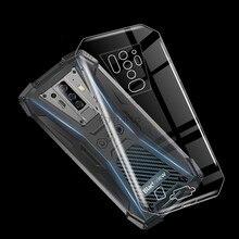 Capa tpu preta macia para blackview bv6900 capa traseira resistente à sujeira transpartne caso de telefone para blackview bv6900 pro silicone caso