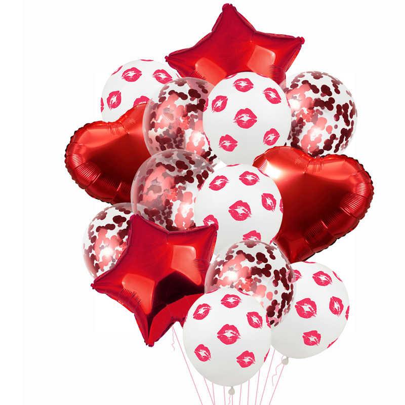 Свадебные латексные воздушные шары для свадебной вечеринки, только что женатые воздушные шары из фольги, украшения для девичника вечерние принадлежности