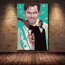Плакат из фильма leon профессиональные художественные принты