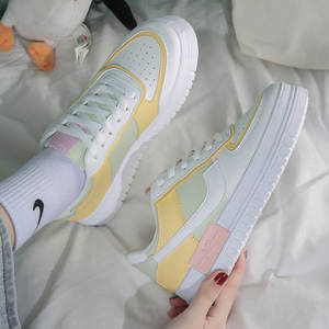 Casual Shoes Vulcanized-Shoes Womens Sneakers Spring Platform-Med Comfortable Heel Wear-Resisting
