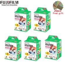 20-100 листов Fujifilm Instax Mini белая пленка мгновенная фотобумага для Instax Mini 8 9 7s 9 70 25 50s 90 камера SP-1 2 камеры