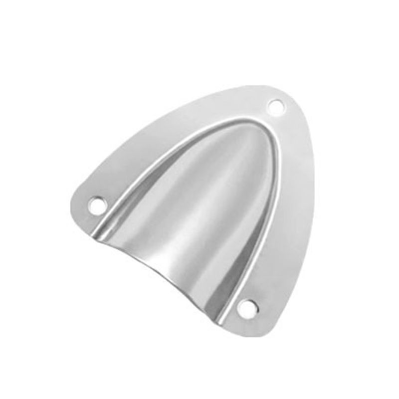 2pcs Stainless Steel Clamshell Ventilator Clam Shell Vent Hose Wire Cover